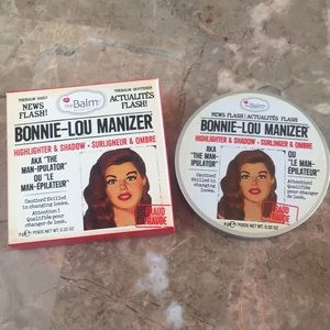 Other - Bonnie-Lou manizer highlighter and shadow